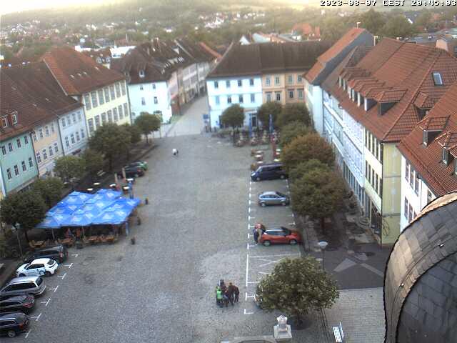 Marktplatz Hildburghausen